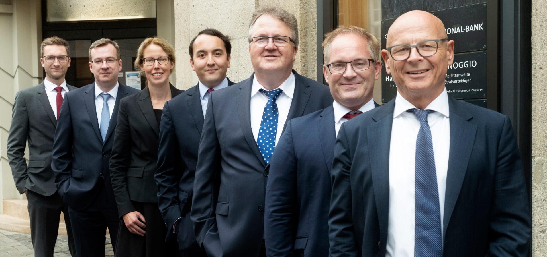 Das Team der Kanzlei Minoggio